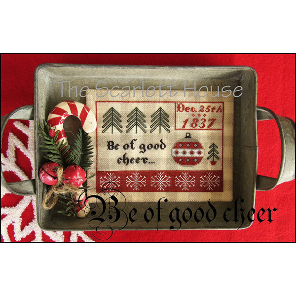 Be of Good Cheer Cross Stitch Pattern