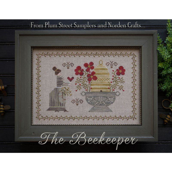 The Beekeeper Cross Stitch Pattern