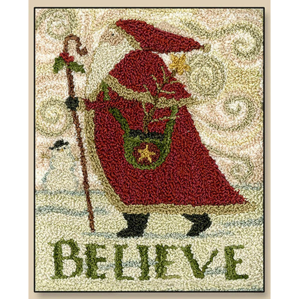 Believe Punch Needle Pattern