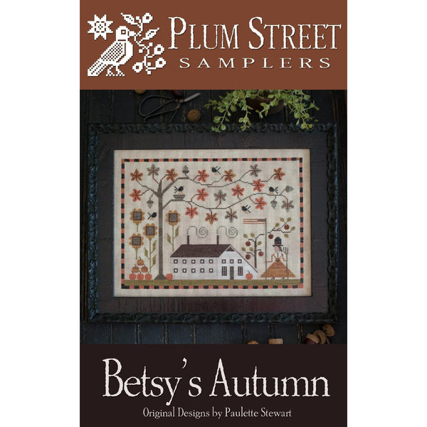Betsy's Autumn Cross Stitch Pattern