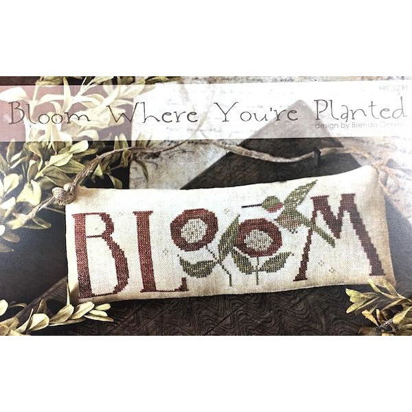 Bloom Where You're Planted Pattern