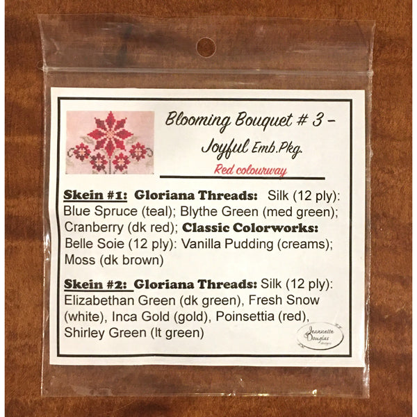 Blooming Bouquets - #3 - Joyful Thread Package