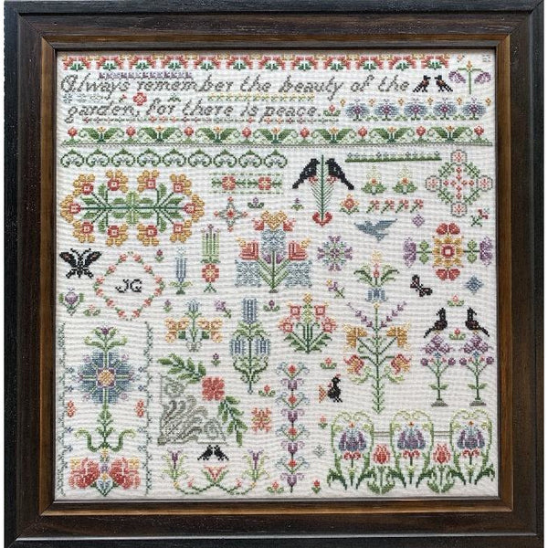 Bramley Garden Cross Stitch Pattern