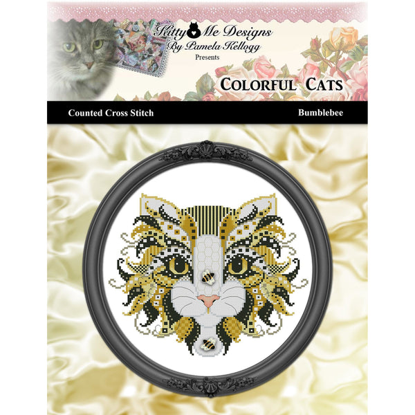Colorful Cats - Bumblebee Pattern