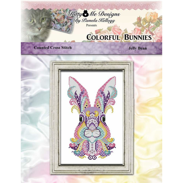 Colorful Bunnies - Jelly Bean Pattern