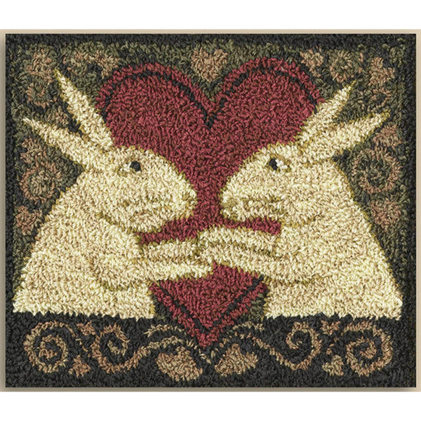 Bunny Love Punch Needle Pattern