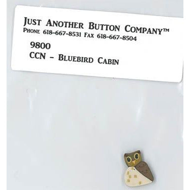 Frosty Forest - Bluebird Cabin Button