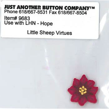 Little Sheep Virtues No. 1 Hope Button