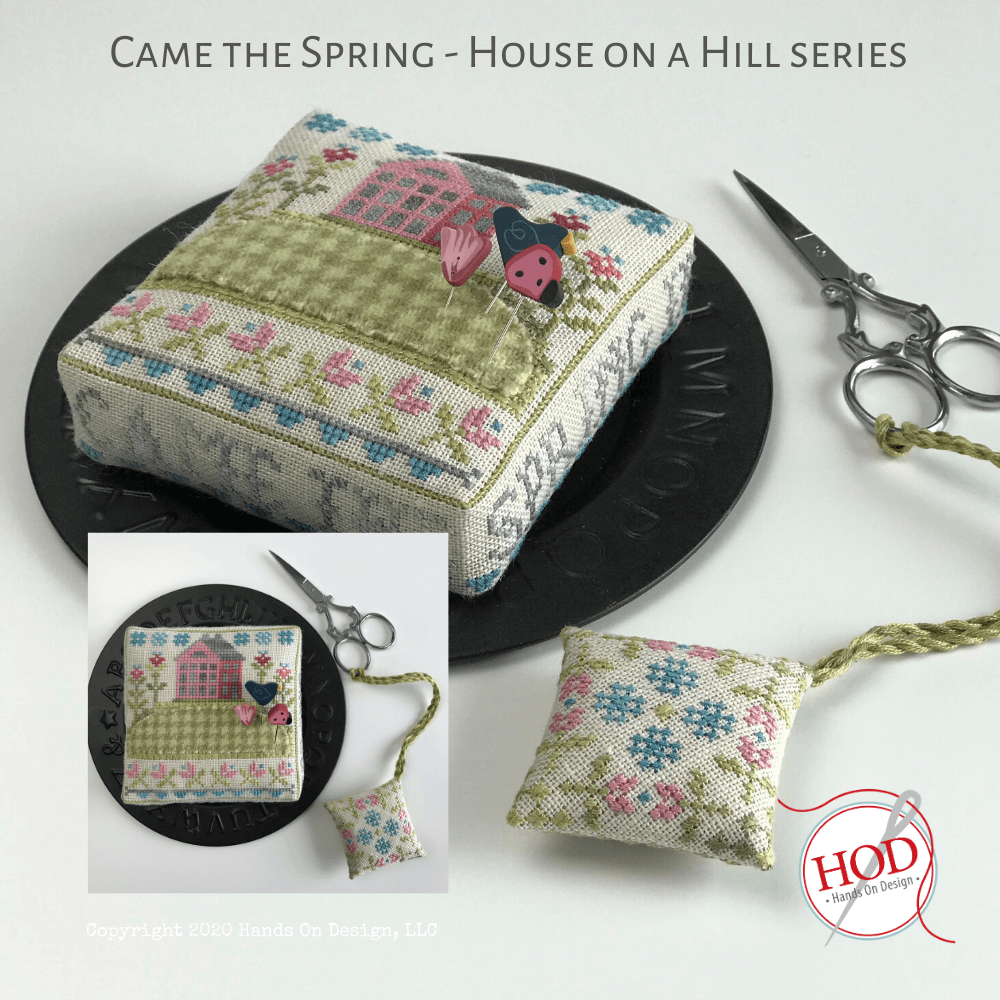 House on a Hill - Came the Spring Pattern