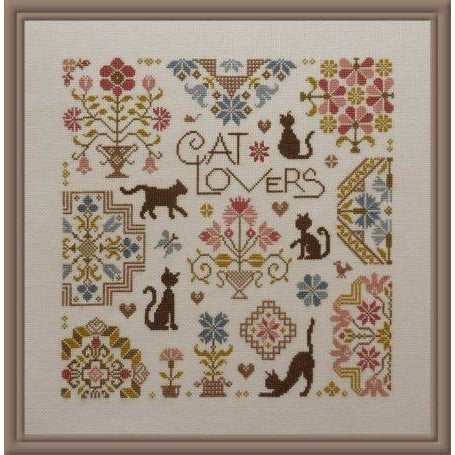 Cat Lovers Pattern