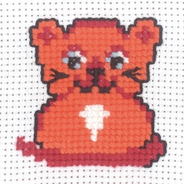 My First Kit - Cat Cross Stitch Kit