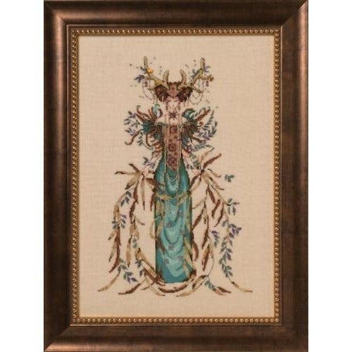 Cathedral Woods Goddess Cross Stitch Pattern