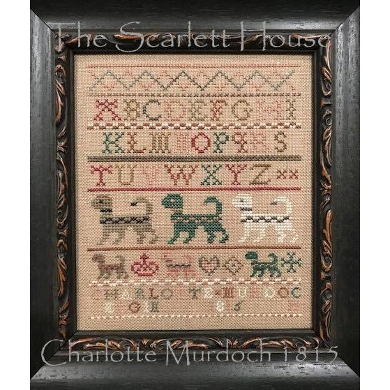 Charlotte Murdoch 1815 Sampler Cross Stitch Pattern