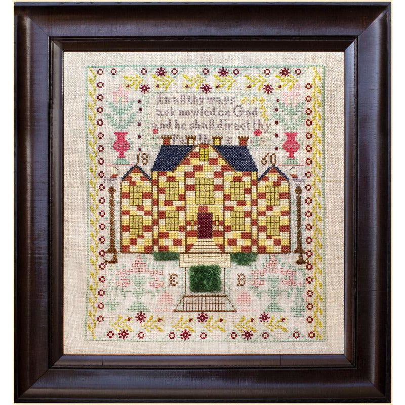Little Gems Series - Chequerboard House Sampler Pattern PDF