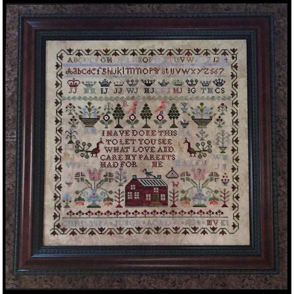 Christina Junor 1834 Sampler Pattern