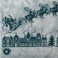 Christmas Silhouettes Cross Stitch Pattern
