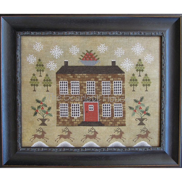Christmastide at Holly House Cross Stitch Pattern