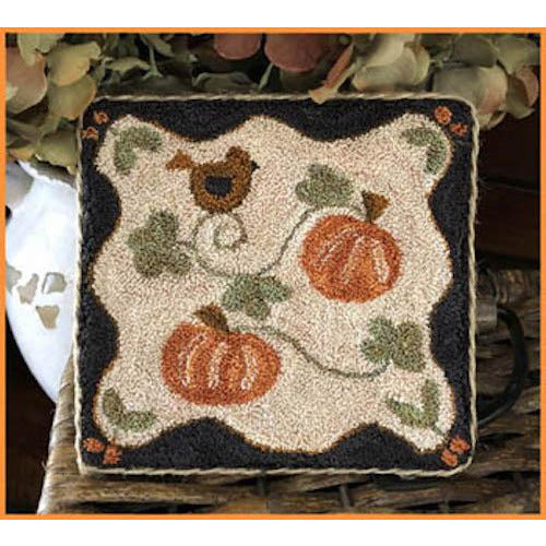 Country Pumpkins Punchneedle Pattern