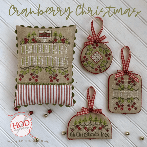 Cranberry Christmas Pattern