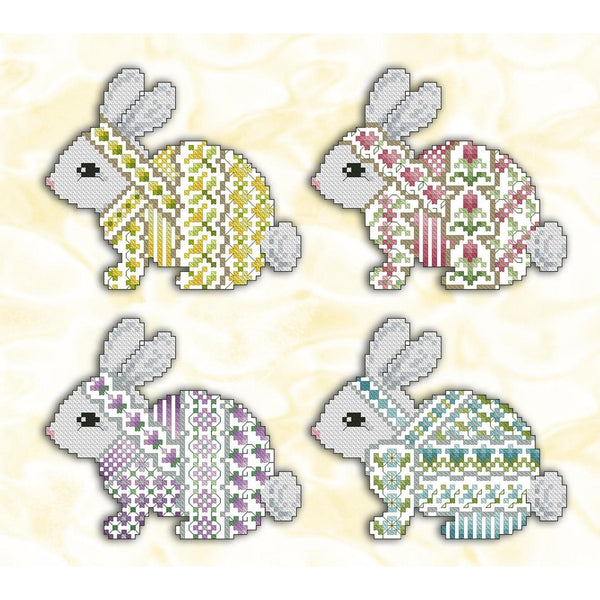 Crazy Bunnies Pattern