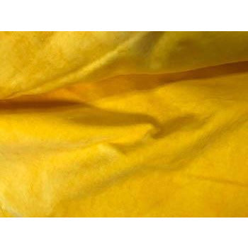 Daffodil 100% Cotton Hand-Dyed Velveteen - Fat Eighth