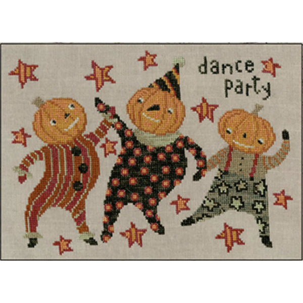Dance Party Cross Stitch Pattern