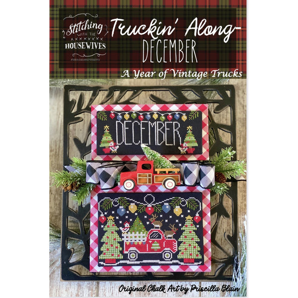 Truckin' Along - December Pattern - Available Mid-October
