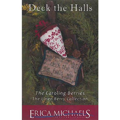Caroling Berries - Deck the Halls Pattern
