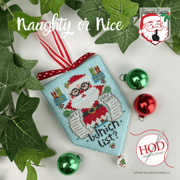 Secret Santa - Naughty or Nice Pattern