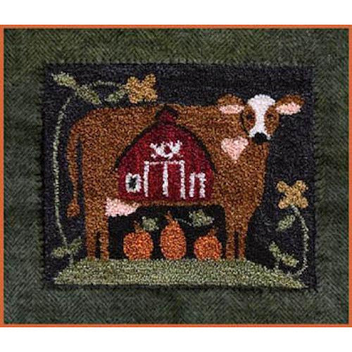 Down on the Farm Punchneedle Pattern