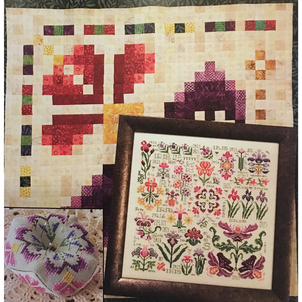 Dreaming of Iris Sampler Pattern