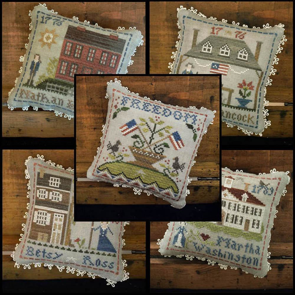 Early Americans Series Cross Stitch Pattern