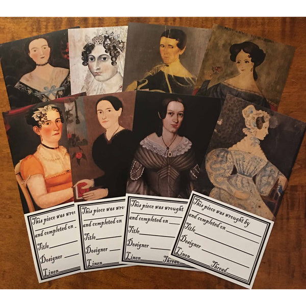 Project Labels ~ Early Portraits
