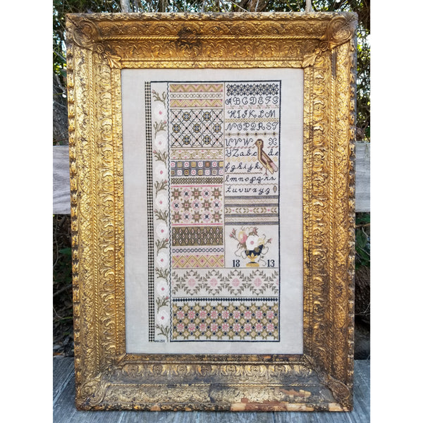English Garden Sampler Pattern