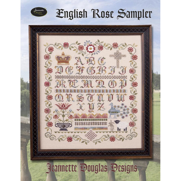 English Rose Sampler Pattern