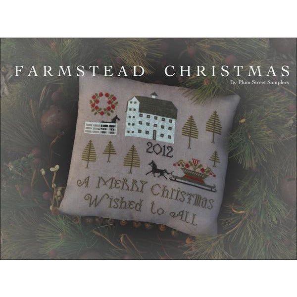 Farmstead Christmas Pattern