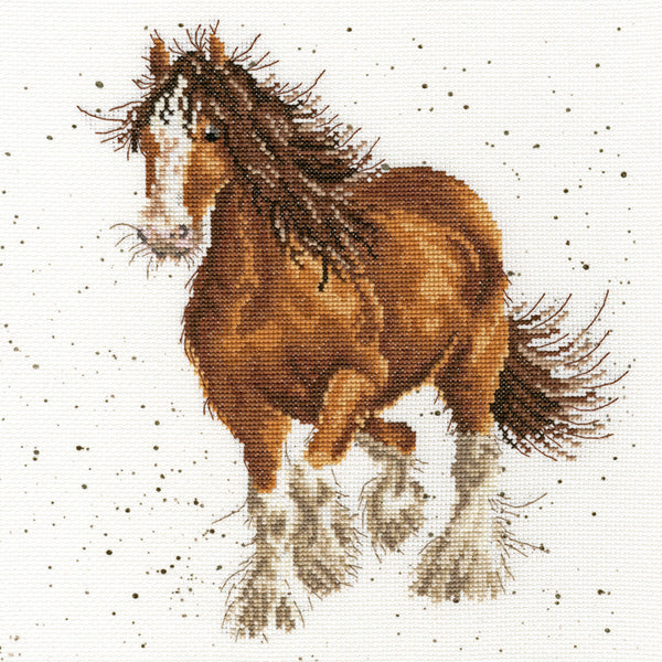 Feathers Cross Stitch Kit