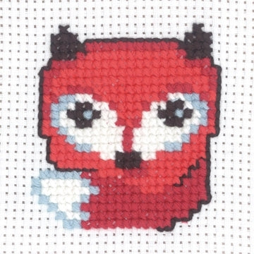 My First Kit - Fox Cross Stitch Kit