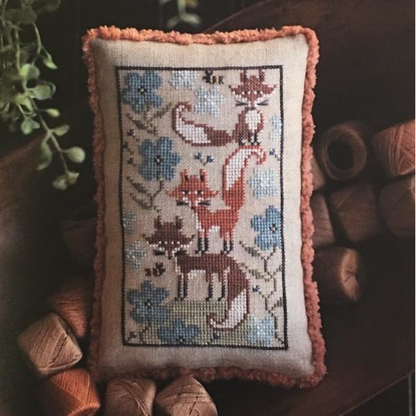 Fox Few Cross Stitch Pattern