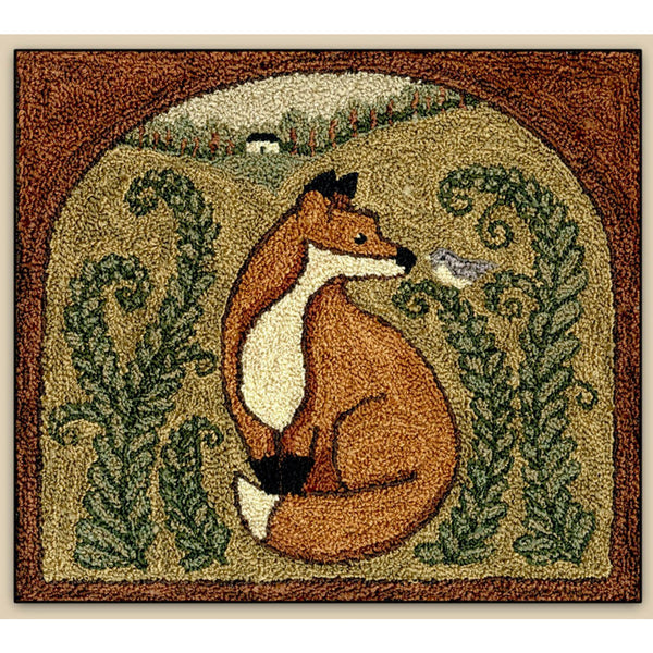 Fox & Friend Punch Needle Pattern