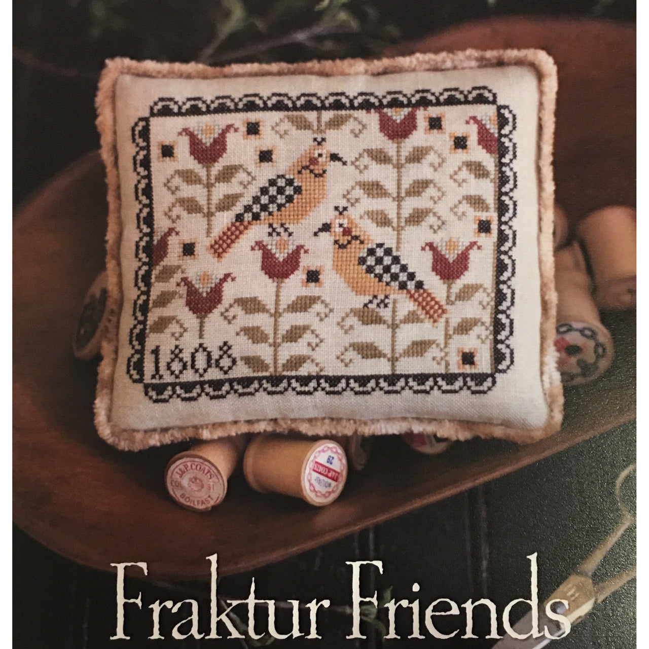 Fraktur Friends Pattern
