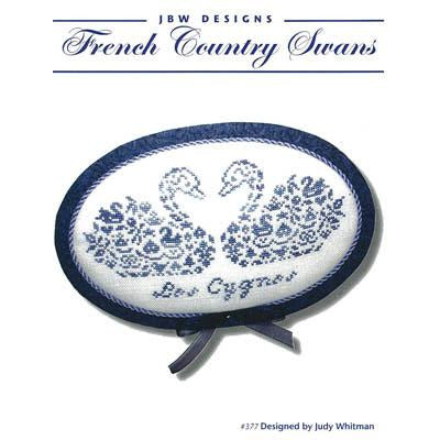 French Country Swans Pattern