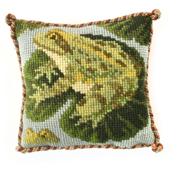 The Frogs Mini Needlepoint Tapestry Kit