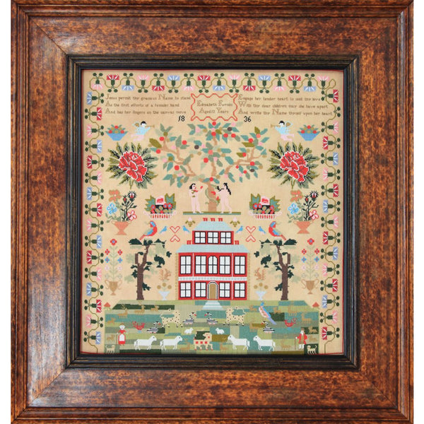 Elizabeth Furniss 1836 Sampler Pattern