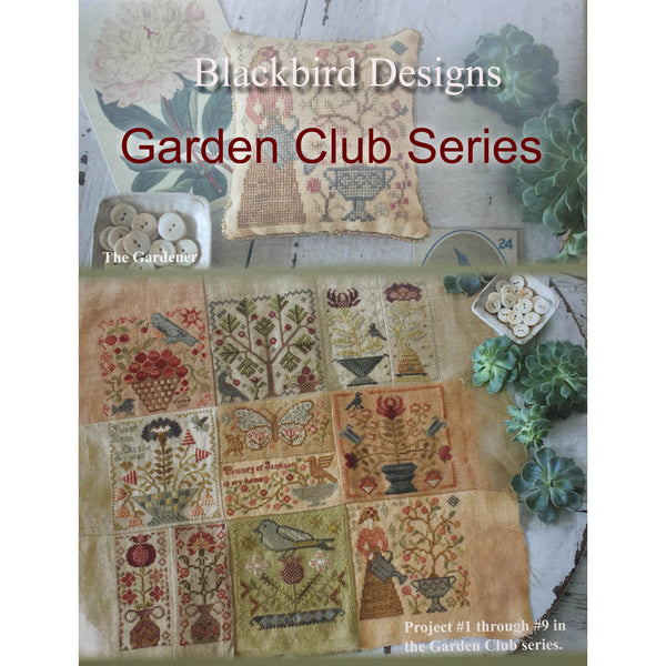 Garden Club Series Cross Stitch Pattern