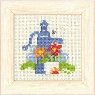 Garden Mini Cross Stitch Kit