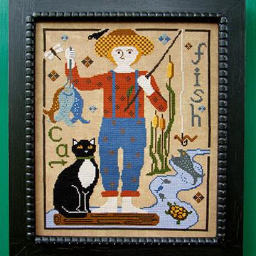 The Boy Series: George Cross Stitch Pattern