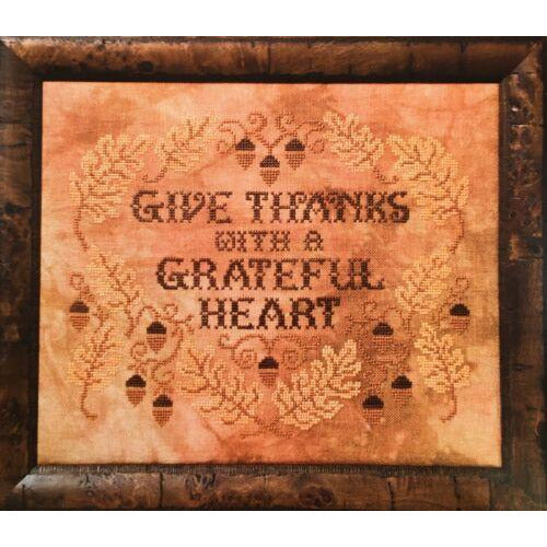Give Thanks Cross Stitch Pattern