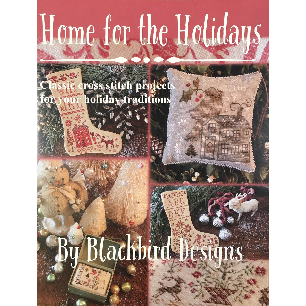 Home for the Holidays Cross Stitch Pattern Book
