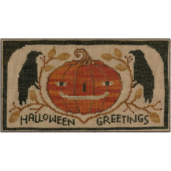 Halloween Greetings Pattern